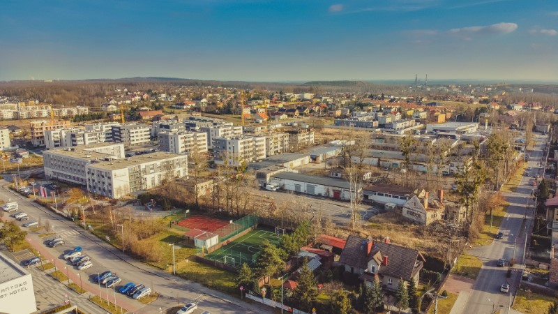 Z drona - Katowice, Bażantowo