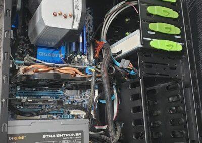 Usprawnienie komputera - wymiana pasty termoprzewodzącej